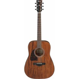 Ibanez Ibanez AW54LOPN Artwood Dreadnought Acoustic Guitar Lefty - Open Pore Natural