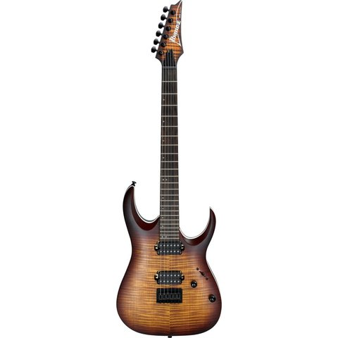 Ibanez RGA42FMDEF RGA Standard 6str Electric Guitar - Dragon Eye Burst Flat