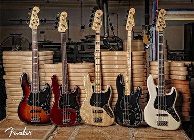 Shop ALL Fender Bass Guitars