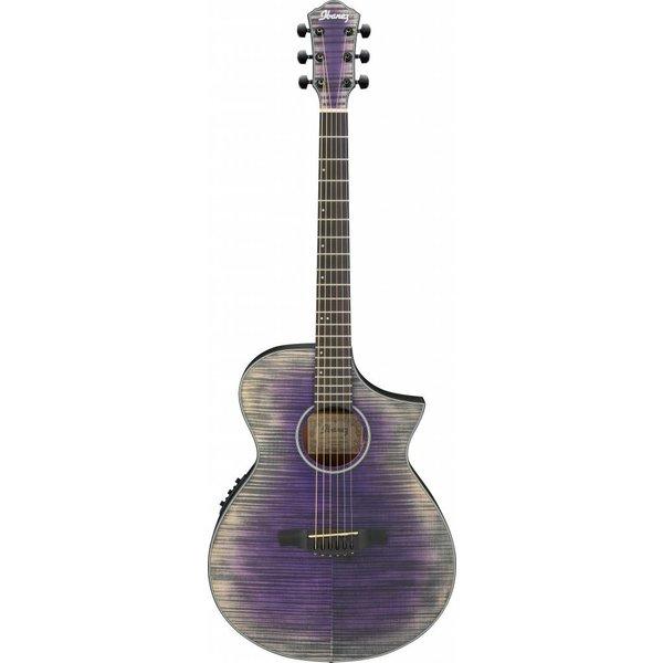 Ibanez Ibanez AEWC32FMGVL AEW Acoustic Electric Guitar - Glacier Violet Low Gloss
