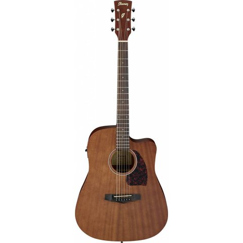 Ibanez PF12MHCEOPN Performance Dreadnought Acoustic Electric Open Pore Natural