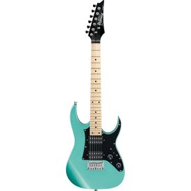 Ibanez Ibanez GRGM21MMGN GIO RG miKro 6str Electric Guitar - Metallic Light Green