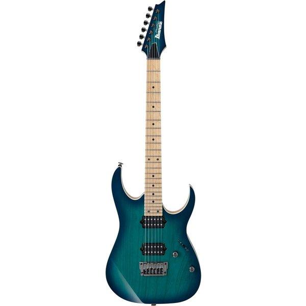 Ibanez Ibanez RG652AHMFXNGB RG Prestige 6str Electric Guitar w/Case Nebula Green Burst