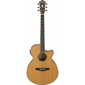 Ibanez Ibanez AEG15IILG AEG Acoustic Electric Guitar - Natural Low Gloss