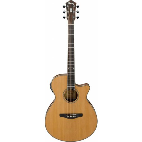 Ibanez AEG15IILG AEG Acoustic Electric Guitar - Natural Low Gloss