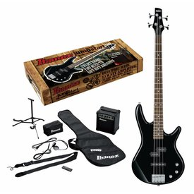 Ibanez Ibanez IJXB150BBK Jumpstart Package 4str Electric Bass - Black