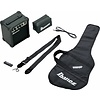 Ibanez IJRG220ZBK Jumpstart Package GRG Electric Guitar amp and accessories