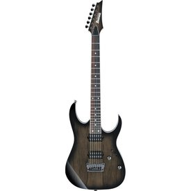 Ibanez Ibanez RG657PBAGF RG Prestige 6str Electric Guitar w/Case Anvil Gray Burst Flat