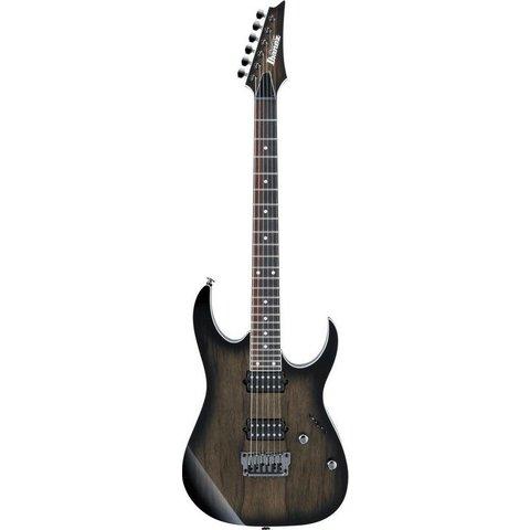 Ibanez RG657PBAGF RG Prestige 6str Electric Guitar w/Case Anvil Gray Burst Flat