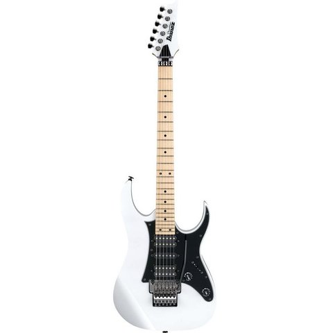 Ibanez RG655MWH RG Prestige 6str Electric Guitar w/Case - White