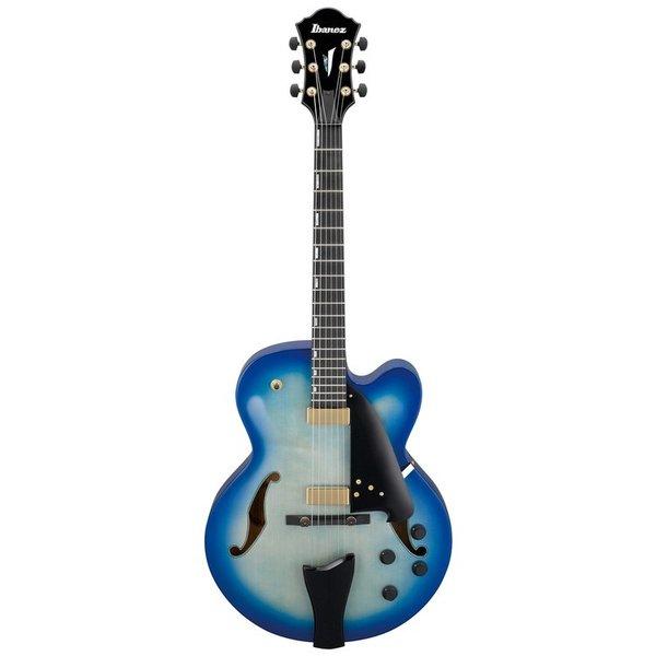Ibanez Ibanez AFC155JBB AFC Contemporary Archtop 6str Electric Guitar Jet Blue Burst