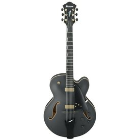 Ibanez Ibanez AFC125BKF AFC Contemporary Archtop 6str Electric Guitar w/Case Black