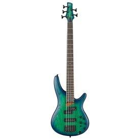Ibanez Ibanez SR655SBB SR Standard 5str Electric Bass - Surreal Blue Burst