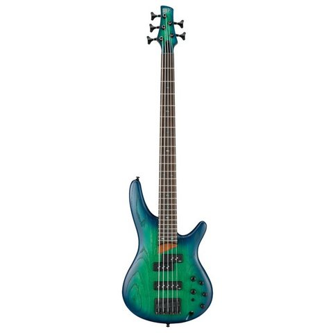 Ibanez SR655SBB SR Standard 5str Electric Bass - Surreal Blue Burst