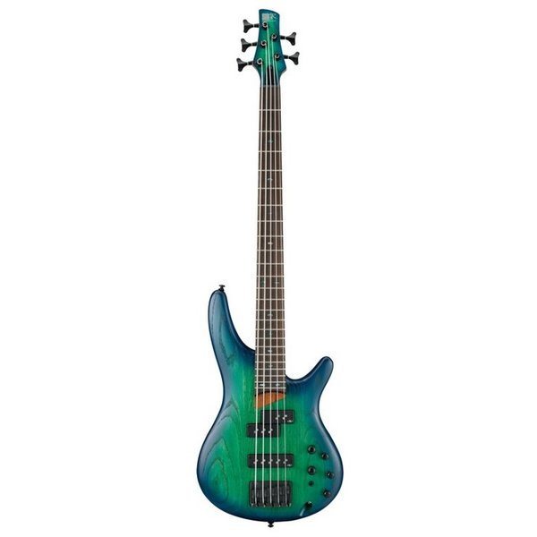 Ibanez Ibanez SR655SBB SR Standard 5str Electric Bass - Surreal Blue Burst