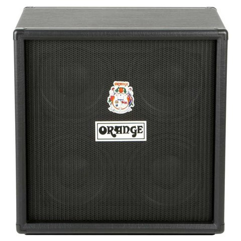 "Orange OBC410 Black 4X10 Eminence 10"" speakers attenuated horn 8 ohms 600 watts"