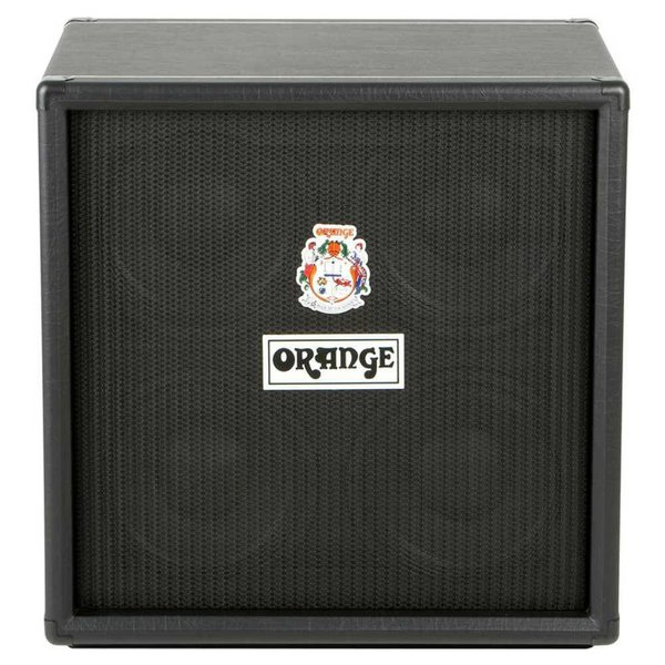 "Orange Orange OBC410 Black 4X10 Eminence 10"" speakers attenuated horn 8 ohms 600 watts"