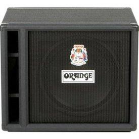"""Orange Orange OBC115 Black 1X15 Loaded with 1 Eminence 15"""" speaker, 8 ohm, 400 watts handling"""