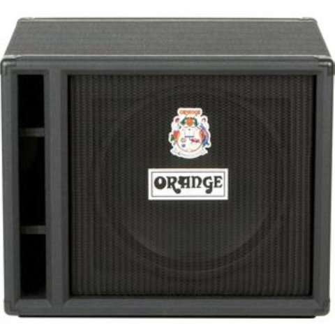 "Orange OBC115 Black 1X15 w/ Eminence 15"" speaker 8 ohm 400 watts"