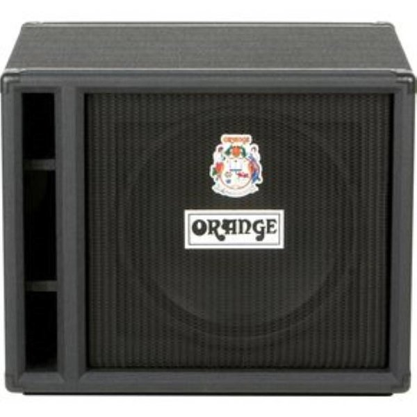 "Orange Orange OBC115 Black 1X15 w/ Eminence 15"" speaker 8 ohm 400 watts"
