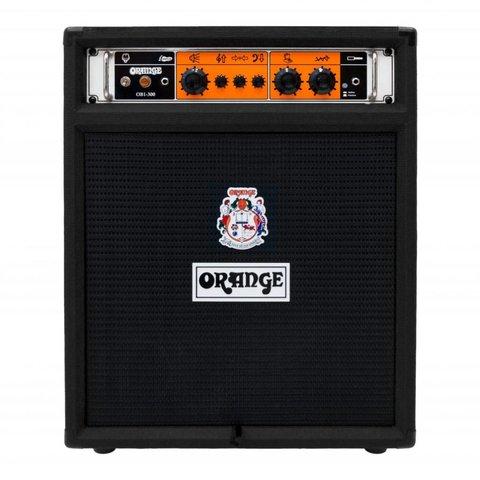 "Orange OB1-300C Black 300 watt combo 15"" Eminence neo speaker front ported cab"