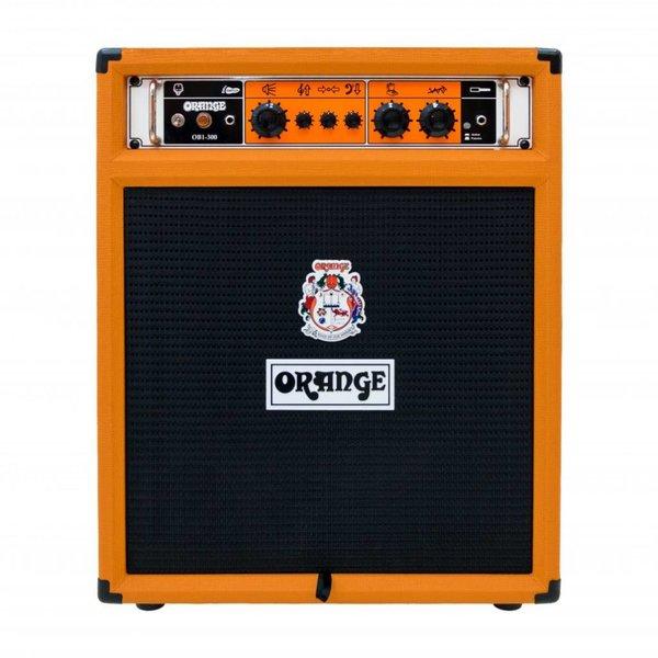 "Orange Orange OB1-300C 300 watt combo 15"" Eminence neo speaker front ported cabinet"
