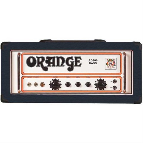 Orange AD200B Black Bass 200 watt, all tube, short signal path bass head