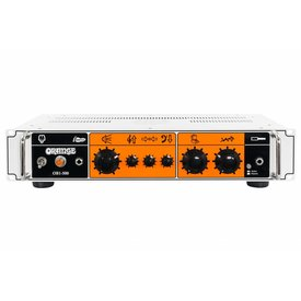 Orange Orange OB1-500 500 watt class AB output, single channel, blendable gain chain, solid state, rack mountable.