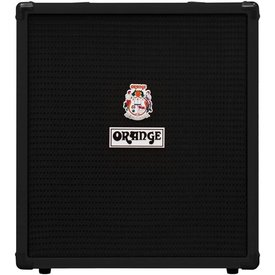 "Orange Orange Crush Bass 50 Black 50 watt, EQ, Para Mid, Gain & Blend, 12"" spkr, CabSim HP Out, Aux In, FX Loop, Tuner"