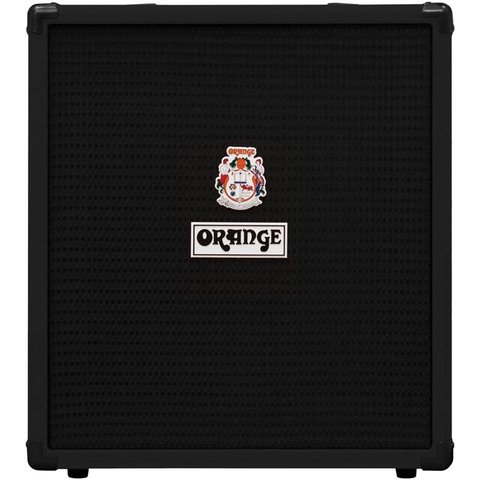 "Orange Crush Bass 50 Black 50 watt, EQ, Para Mid, Gain & Blend, 12"" spkr, CabSim HP Out, Aux In, FX Loop, Tuner"