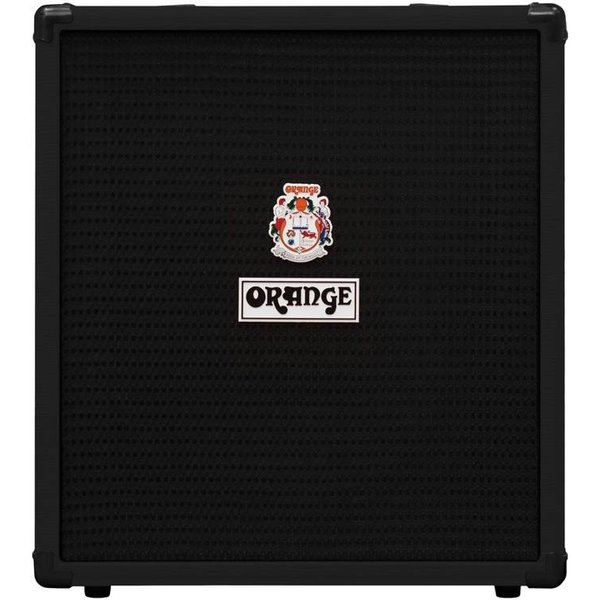 Orange Orange CR Bass 50 Blk 50 W EQ, Para Mid, Gain & Blend, 12'' spkr, CabSim HP Out, Aux In FX Lp Tuner