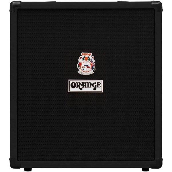 Orange Orange Crush Bass 50 Black 50 watt, EQ, Para Mid, Gain & Blend, 12'' spkr, CabSim HP Out, Aux In, FX Loop, Tuner