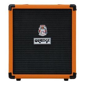 "Orange Orange Crush Bass 25 25 watt, Active EQ, Para Mid, 8"" speaker, CabSim HP Out, Aux In, Tuner"