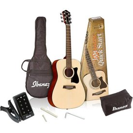 Ibanez Ibanez IJV30 Acoustic MINI Dreadnought Package