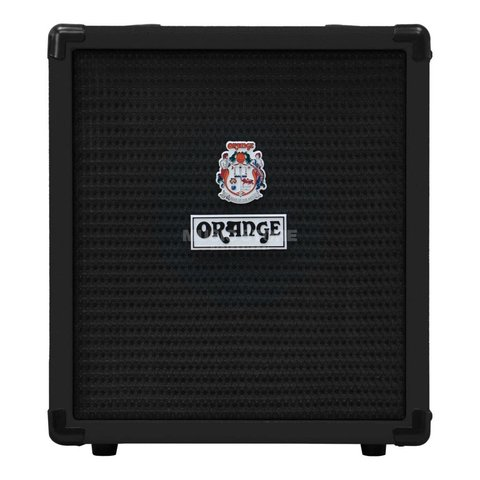 "Orange Crush Bass 25 Black 25 watt Active EQ Para Mid 8"" speaker CabSim"