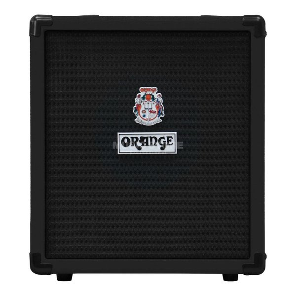 "Orange Orange Crush Bass 25 Black 25 watt Active EQ Para Mid 8"" speaker CabSim"