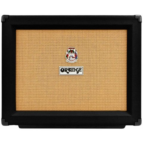 Orange PPC112 Black 1X12 Closed-back cab loaded w Celestion V30 16 ohm 60 watts