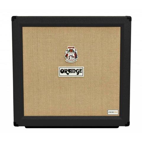 Orange CR PRO 412 Blk Crush Pro 4x12 Clsd back cab, Voice of the World 12'' speakers, 16 ohm, 240 W