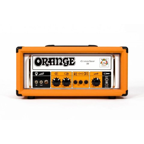 Orange Custom Shop CS50 50 Class A/B, 30 W Class A, Handwired, Single Ch, foot-switchable EQ Lift