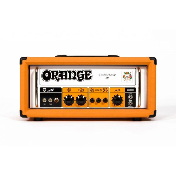 Orange Orange Custom Shop CS50 50 Class A/B, 30 Watt Class A, Handwired, Single Channel, foot-switchable EQ Lift