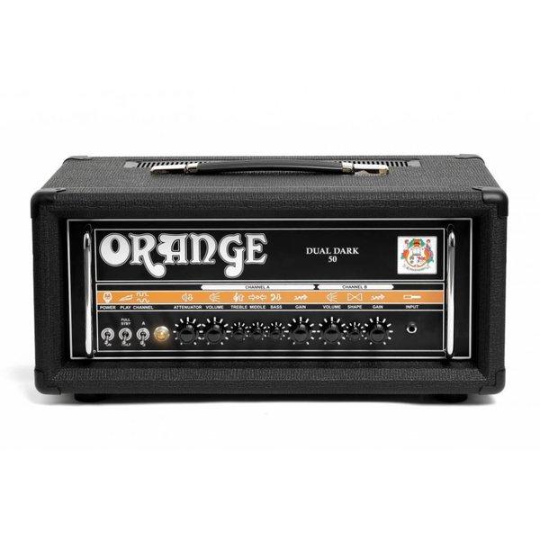 Orange Orange DD50 Black Dual Dark - 50/25 watt Class A/B 2 channel high gain tube amp