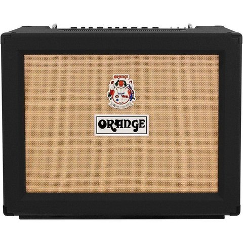 Orange RK50TC212MKIII Black Rockerverb MKIII 2X12 Combo - 50/25 watt, tube FX loop, reverb, EL34, Celestion V30