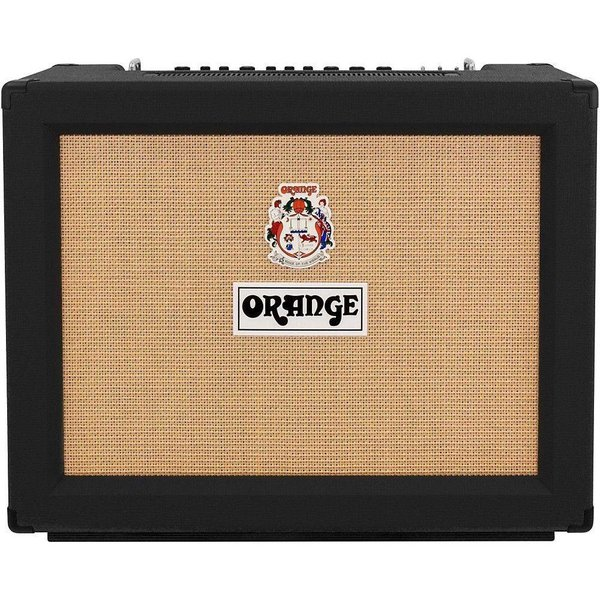 Orange Orange RK50TC212MKIII Black Rockerverb MKIII 2X12 Combo - 50/25 watt, tube FX loop, reverb, EL34, Celestion V30