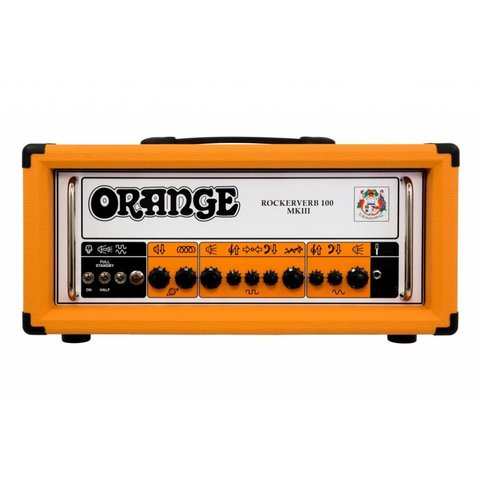 Orange RK100HTCMKIII Rockerverb MK III -100/70/50/30 watt twin channel head, attenuator, tube FX loop, reverb, EL34