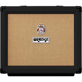 "Orange Orange ROCKER-15-BLK 15/7/1/.05 watt combo, 1X10"" VOTW gold label spkr, natural/dirty channel, valve buffered FX loop"