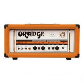 Orange Orange TH Series TH30H 30/15/7 watt Class A Tube Head, 2-channel w/ tube effects loop, EL84 powered