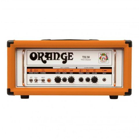 Orange TH30H 30/15/7 watt Class A Tube Head 2-channel effects loop EL84