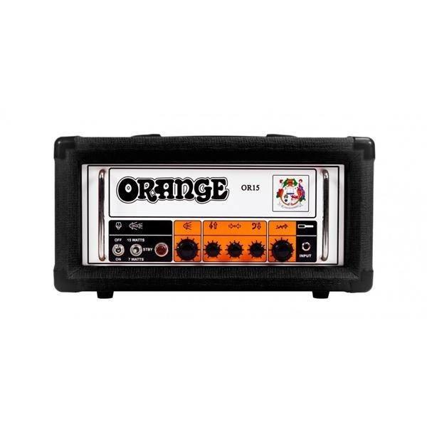 Orange Orange OR15 Black 15/7 Watt Class A Single Channel 3 Band EQ tube effects loop