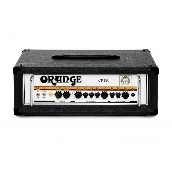 Orange Orange Crush Pro CR120H Black 120 Watt head channels 3 voice reverb