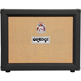 "Orange Orange Crush Pro CR120C Black 120 Watt 2x12"" Voice of the World combo, Rockerverb voiced, 3 voice reverb"